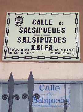 Calle pamplonesa
